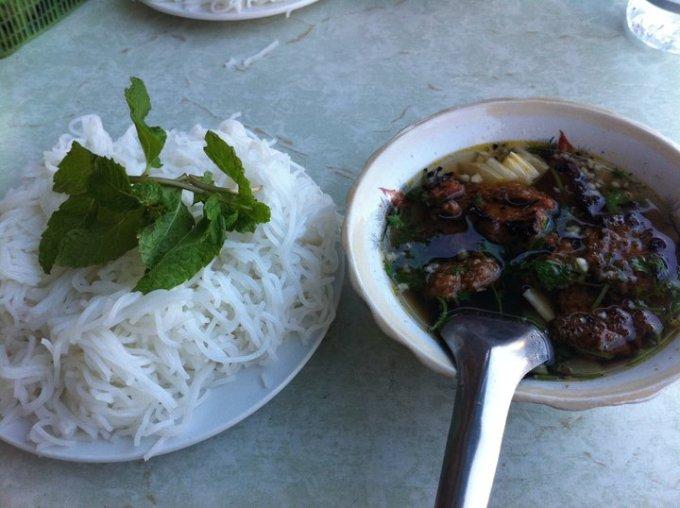 ブンチャー フォー つけ麺 ベトナム 料理