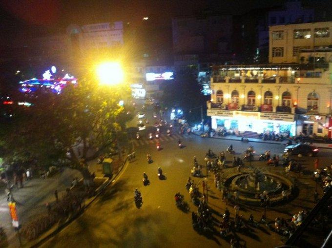 旧市街 ベトナム 旅行 ハノイ バイク カフェ