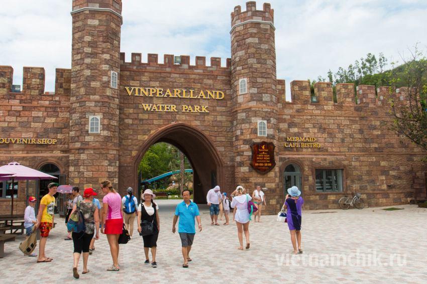 Water Park в парке развлечений Vinpearl