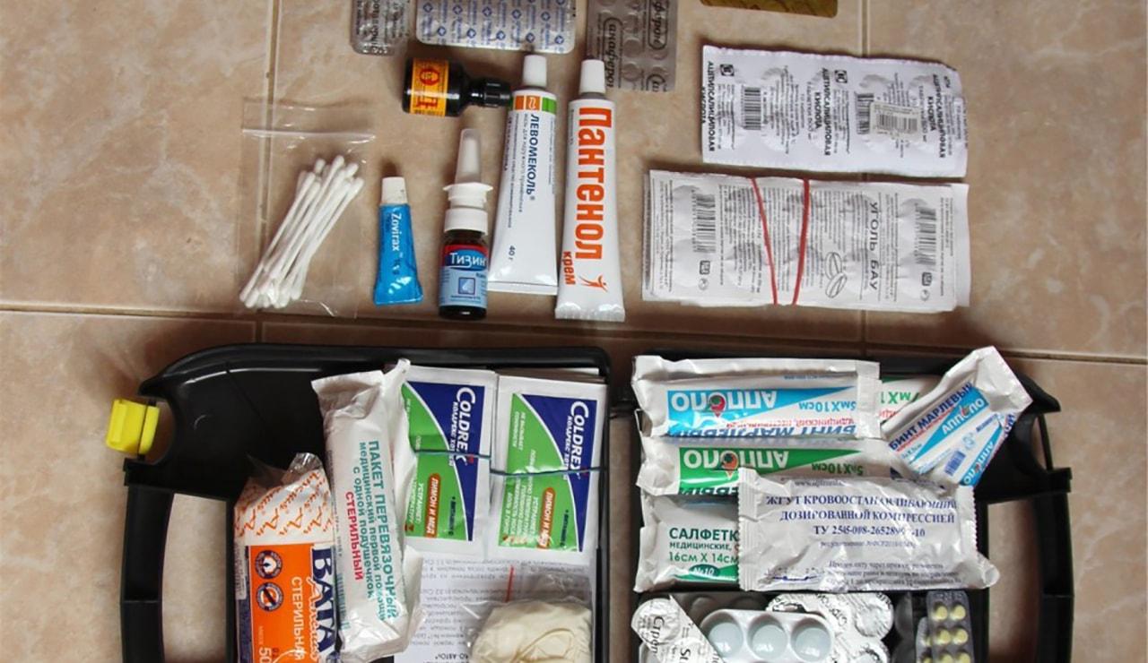 Подготовка аптечки