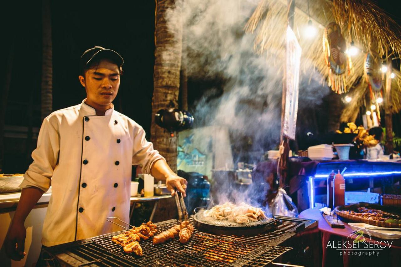 Уличная еда Вьетнама