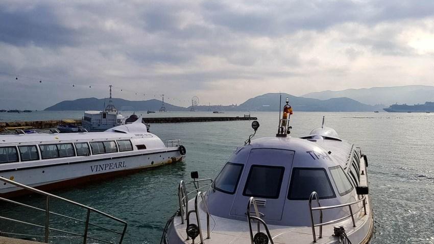 Скоростные лодки из Нячанга на остров Винперл