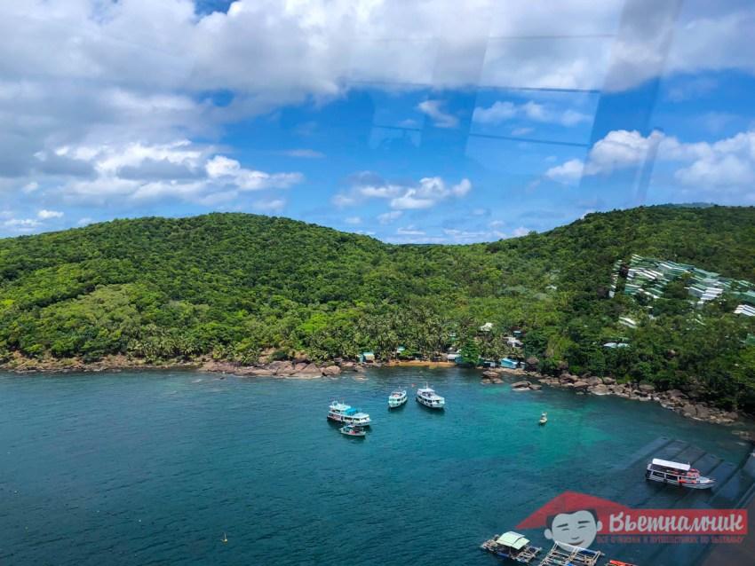 Остров Ананас, вид из фуникулера