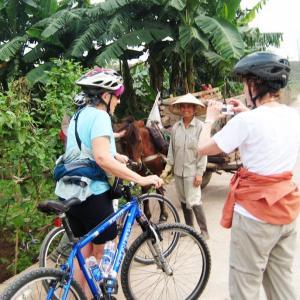 biking mekong delta vietnam