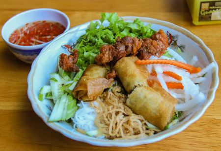 Bun Thit Nuong or Grilled Pork and Vermicelli