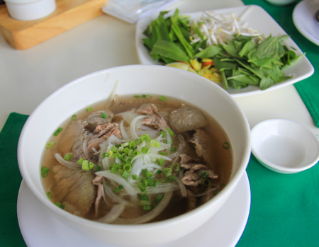 Pho Bo or Beef Noodle Soup