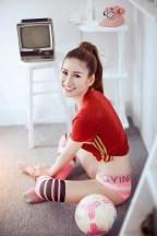 anh hotgirl sexy ung ho doi tuyen nga tai euro 2016 02
