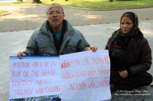 Cha mẹ anh Nguyễn Văn Chưởng kêu cứu cho con