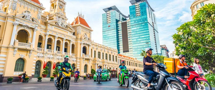Ho Chi Minh City @ Photo by The Travel