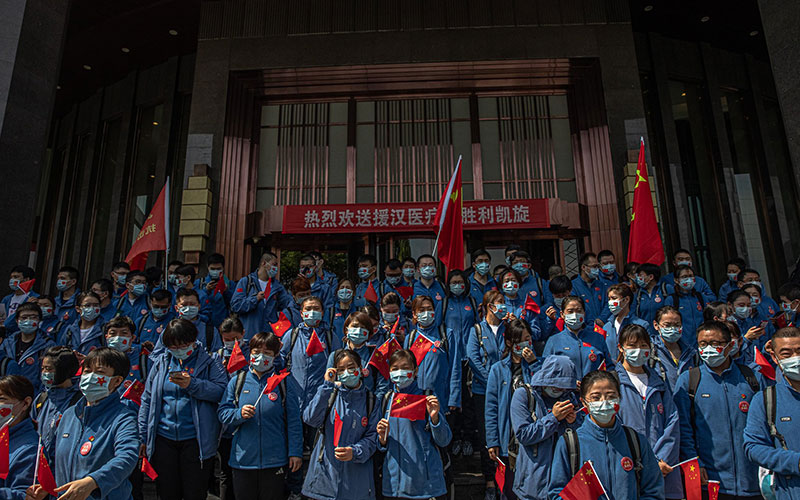 Medical-workers-in-Wuhan-China