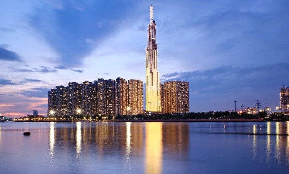 ho chi minh city landmark in Vietnam