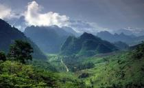 Lai Chau moutain and forest