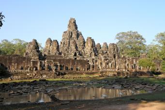 The Bayon Angkor Thom Cambodia