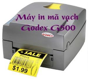 Máy in mã vạch Godex G500 giá rẻ 2020