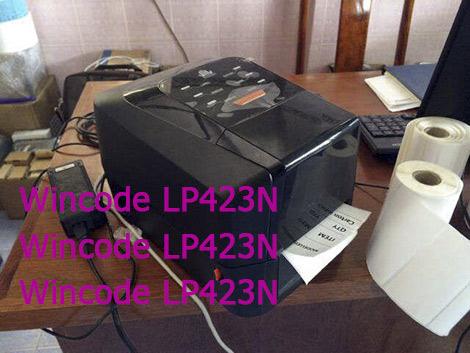 Máy in mã vạch Wincode LP423N giá rẻ chính hãng
