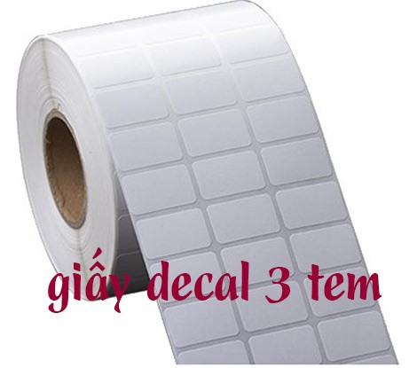 giấy decal 3 tem