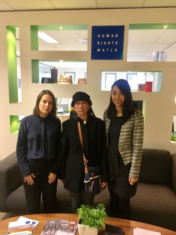 VOICE Australia cùng mẹ tù nhân chính trị Đinh Nguyên Kha đi vận động cho nhân quyền Việt Nam