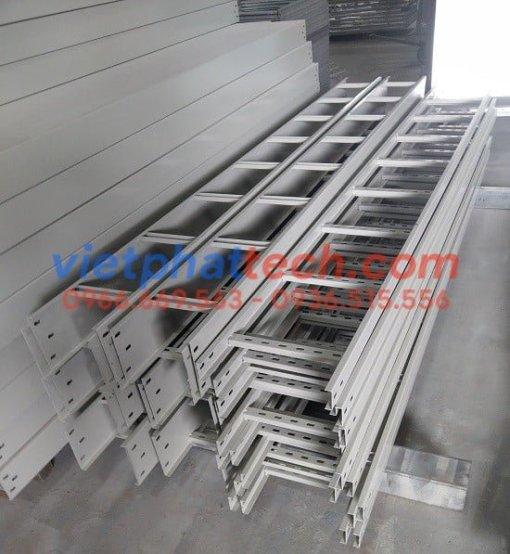 Sản xuất Thang cáp 200x100 sơn tĩnh điện giá rẻ toàn quốc 3