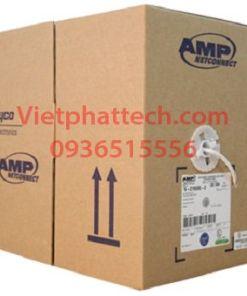 Cáp mạng AMP cat5E 4 đôi 4