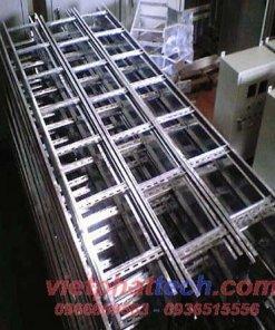Sản xuất thang cáp inox
