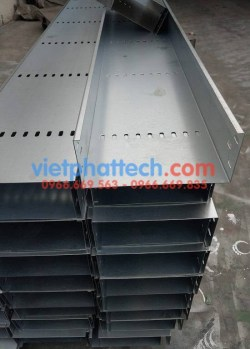 Sản xuất thang máng cáp tráng kẽm điện phân số 1 11