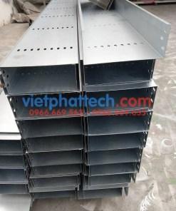 Sản xuất thang máng cáp tráng kẽm điện phân số 1 10