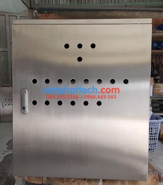 Vỏ tủ điện inox, hộp cứu hỏa inox 304, 201 Giá tốt 19