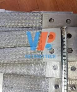 Thanh nối đồng bện 350x100x10mm cho máy bến áp 24