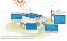Cơ chế hoạt động của pin năng lượng mặt trời hoà lưới