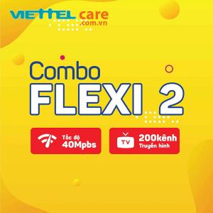 combo flexi 2 40 Mbps 200 kênh