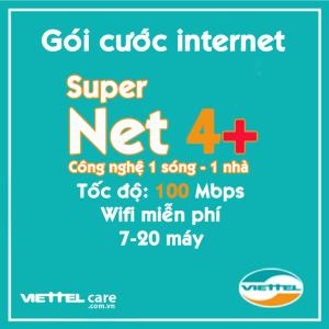 Goi cuoc internet Super Net 4