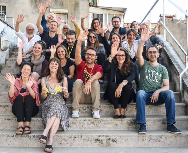 EURODRAM-Koordinatoren und einige Komitee-Mitglieder in Lissabon. – Foto: Marília Maia e Moura EURODRAM-Koordinatoren und einige Komitee-Mitglieder in Lissabon. – Foto: Marília Maia e Moura