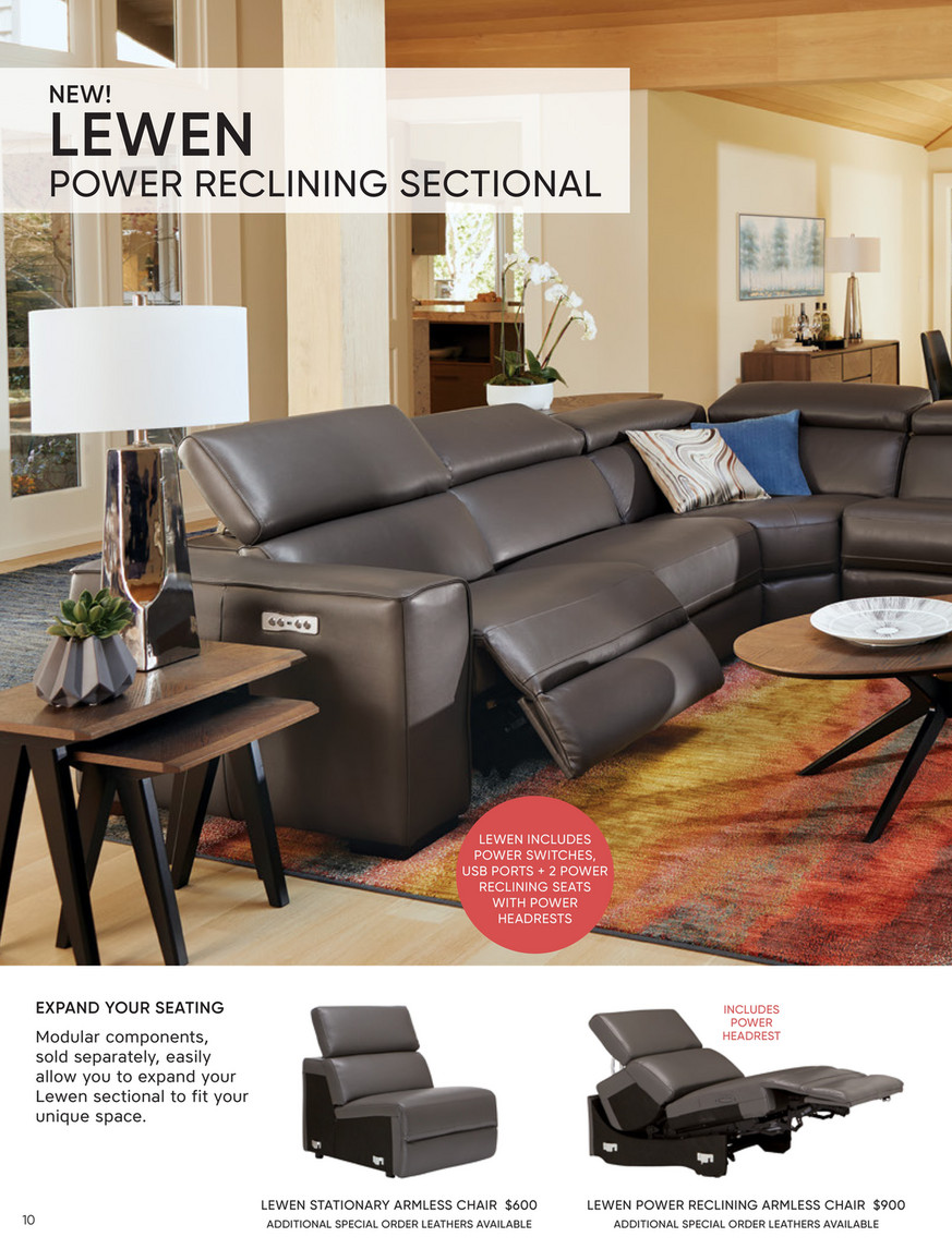 Dania Furniture 2019 Spring Summer Catalog Rost Swivel Chair