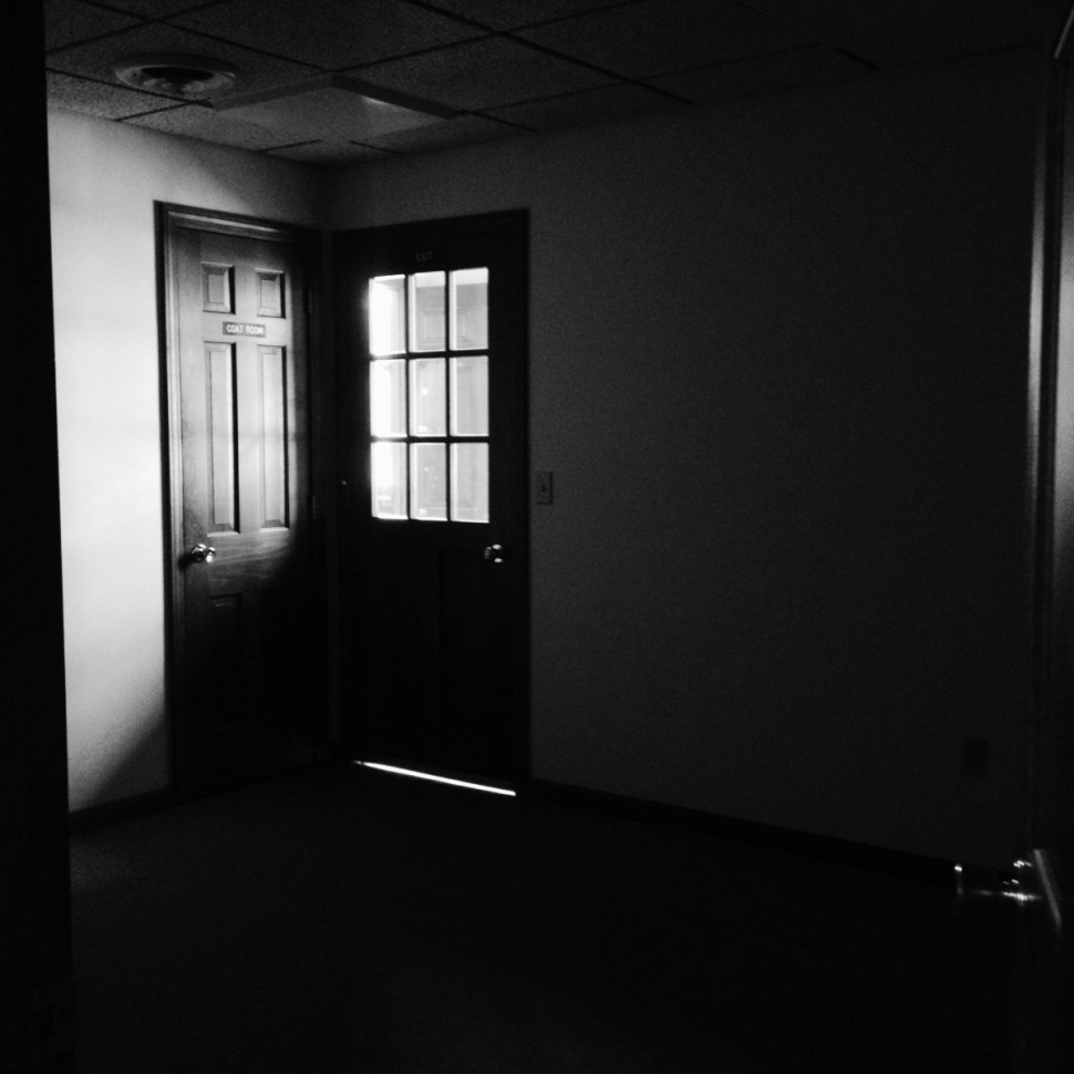 An empty room by Nikki Gardner