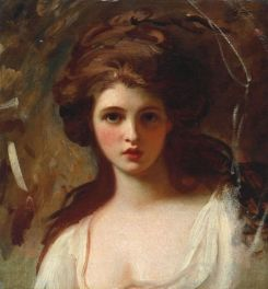 Emma as Circe, sorceress from Greek Mythology, Romney, 1782. Tate Britain