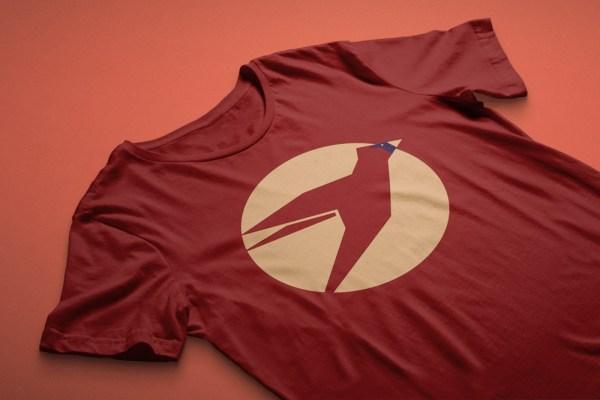 St. Louis Cardinals inspired Bird Minimal Shirt