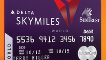 foto de Suntrust Devalues the Delta Debit Card This Week, and They're ...