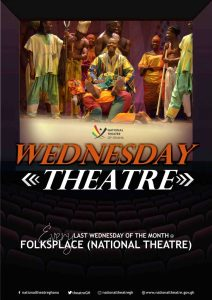 Wednesday Theatre at the National Theatre of Ghana