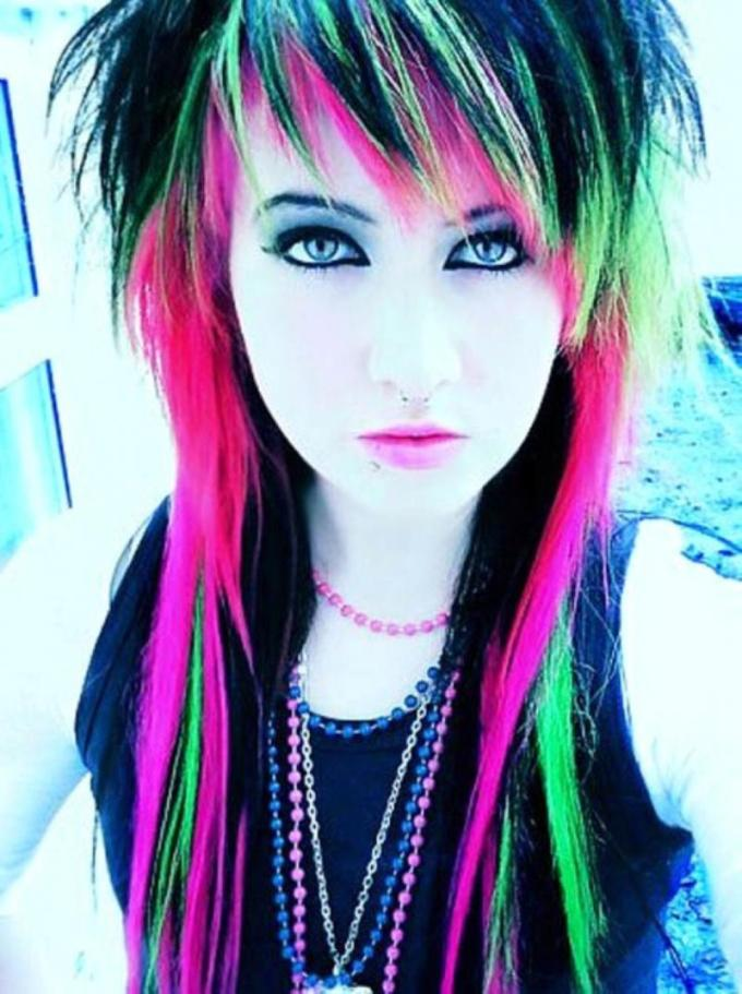 the craziest funky women hairstyles for long hair - viewkick
