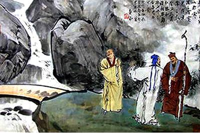 Ancient hermits in Mt Zhongnan