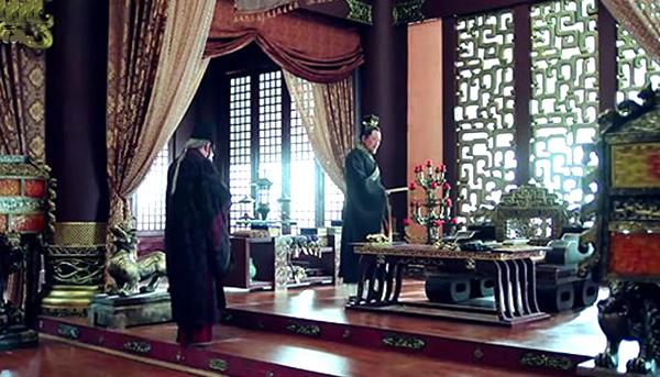 The emperor's studio