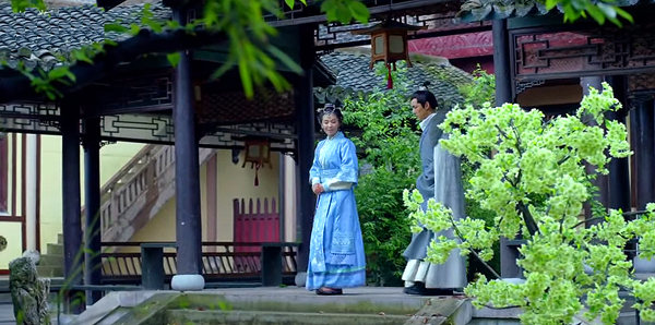 Princess Nihuang introduced an alternative garden residence to Mei Changsu