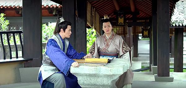 Jingrui talking about Mei Changsu with Yujin