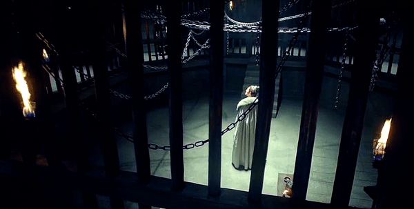 Mei Changsu in the prison cell