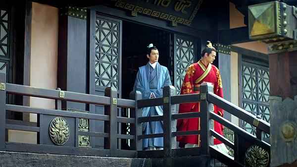Crown Prince Jing and Mei Changsu, worked together reformed the nation's corruption-ridden political and military systems