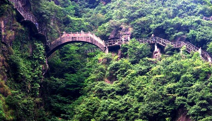A bridge and walkway in Mt Lanke