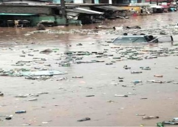 Flood: STDD warns residents against dumping refuse in drainages