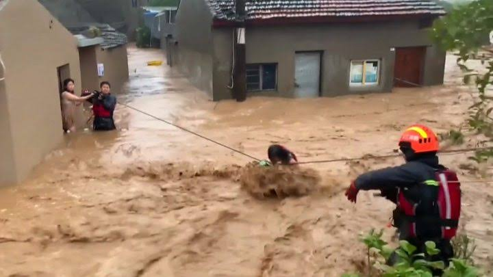 Typhoon Lekima hits China with 28 death, 20 missing