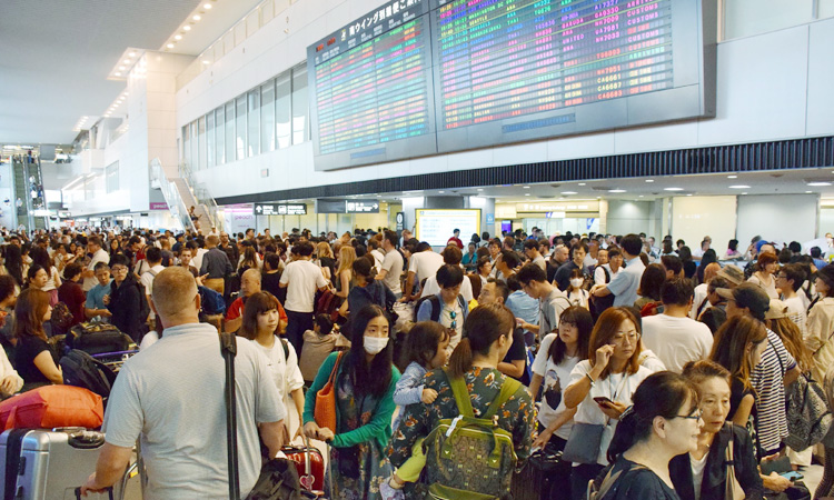 Typhoon: 7,000 passengers stranded at Tokyo airport – Operator