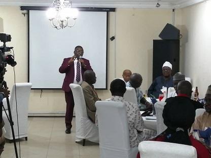 PHOTO NEWS: REDAN honours AHCN president